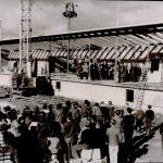 Richtfest Freibad 1962